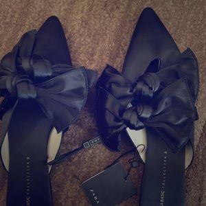 Zara flats mules shoes